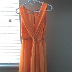 H by Halston Dresses - Halston Dress Size 0 orange-peach